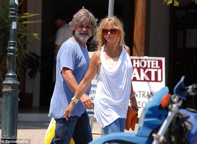 Σκιάθος, Goldie Hawn and Kurt Russell δύο διάσημοι εραστές
