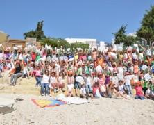 Γαλάζια Σημαία στην παραλία του Creta Maris!